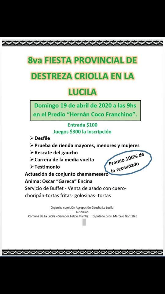 Fiesta Provincial De Destrezas